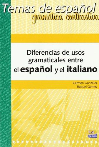 Diferencias de usos gramaticales Esp/Ita (Temas de Español)