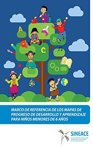 Marco de referencia de los mapas de progreso de desarrollo y aprendizaje para niños menores de 6 años por Acreditación y Certificación de la Calidad Educativa Sistema Nacional de Evaluación