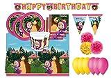 Procos IRPot - Kit N.57 Kit Compleanno Bambino Vari Personaggi (Masha E Orso)