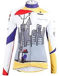 nouvelles femmes de style vélo à séchage rapide vélo respirant Maillot manches longues