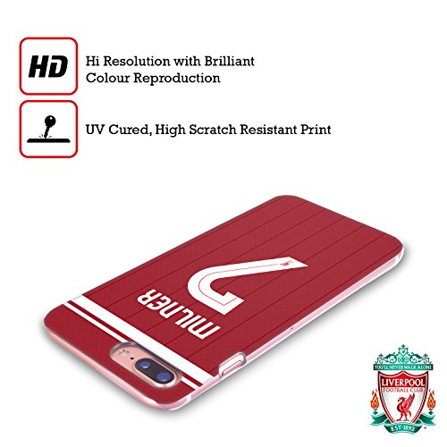 Offizielle Liverpool Football Club Emre Can Spieler Home Kit 17/18 Gruppe 1 Ruckseite Hülle für Apple iPhone 6 Plus / 6s Plus James Milner