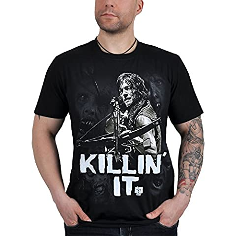 T-shirt The Walking Dead Killin' It Daryl Dixon (L)