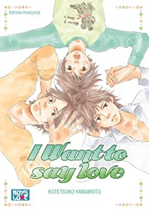 I Want To Say Love Edition simple One-shot