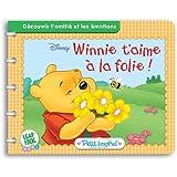 LeapFrog - Petit LeapPad - Livre : Winnie t'aime à la folie (Disney)