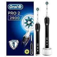 Oral-B Pro 2900 Şarj Edilebilir Diş Fırçası Siyah 2'li Avantaj Paketi