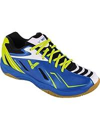Victor - Zapatillas de bádminton de Sintético para Hombre Azul Azul y Verde