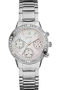 Guess–Reloj de pulsera analógico para mujer cuarzo acero inoxidable w0546l1 de Guess