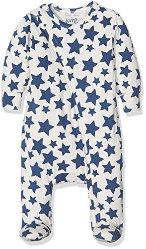 Kite Zippy Star Sleepsuit Pyjama Bleu Marine, 24 Mois Mixte bébé