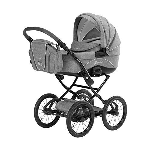 *Knorr-Baby 36000-4 Kombikinderwagen Classico, hellgrau*