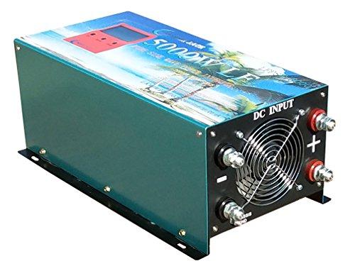Convertitore puro Sinus 5000W Inverter 24V a 220V onda sinusoidale pura Power Inverter/UPS/caricatore di batteria 80a, versione aggiornata, AS3