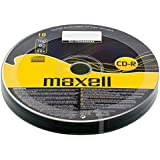 Maxell® CD-R CDR 52x Speed 700 MB 80 Min 10 Pieces 10pcs Blank Discs 10 CDs Pack (1 Pack (10 CDs))