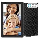 NIXPLAY Seed WLAN Digitaler Bilderrahmen 10 Zoll Breitbild W10B. Fotos & Videos per App oder Email an den...