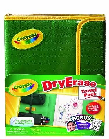 Crayola Dry Erase - 98-8634.0030 - Kit De Loisirs Créatifs - Pochette De Voyage