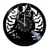 Ma Va Joker Batman Disque Vinyle Horloge Murale Cadeau pour Les Fans Grande Idée Home Decor DC Comics Vintage Décoration-Acheter Cadeau pour Tout Le Monde