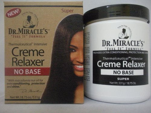 Base Creme Relaxer (Dr. Miracle's No Base Creme Relaxer Super 531g)