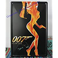 Classic 007 metallo manifesti di film Wall