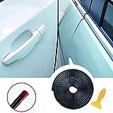 YY-LC 5M Guarnizione Porta Auto Gomma Striscia Bordo Protettore Striscia Paracolpi,Protezione per il bordo della porta/Fodera protettiva/Modanatura del bordo,Adatto alla maggior parte delle auto