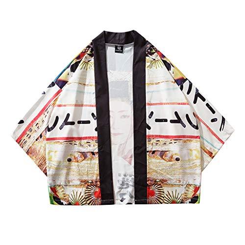 DNOQN Oversize T Shirt Herren Cashmere Pullover Slim Fit Bluse Männer Gestreift Spleißen Taste Langarm Shirt Mode Langarm Bluse Top L -