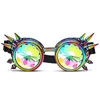 ❤100% neuf et haute qualité.   ❤Matériel: cadre en plastique PC   ❤Type: lunettes de kaléidoscope   ❤ Sun-type: Rave / Dance / EDM Lunettes de soleil   ❤ Couleur de l'objectif: Divers   ❤Features: Festival, Rave, Party   ❤ Convient pour la forme du...