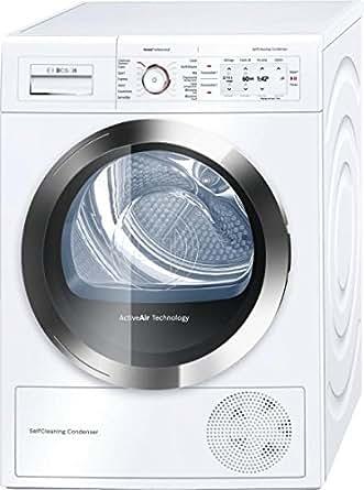 Bosch WTY86780FF Autonome Charge avant 8kg A+ Gris, Blanc machine à laver - machines à laver (Autonome, Charge avant, A+, Gris, Blanc, TFT, Droite)