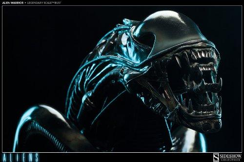 Aliens / Alien Warrior Legendary Scale Bust by Sideshow 6