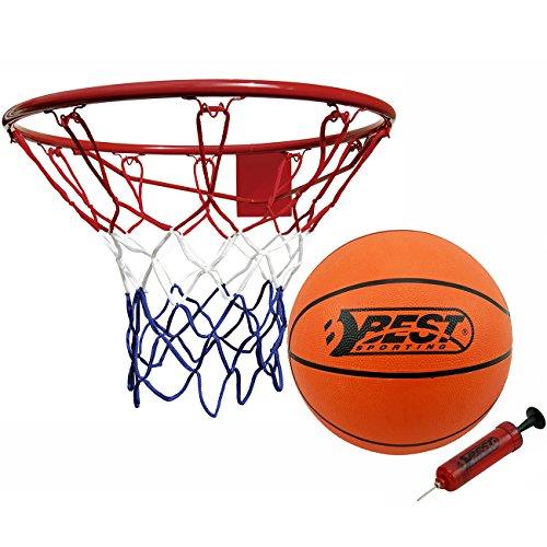 Best Sporting Basketball Set, Basketballkorb mit Basketball und Pumpe