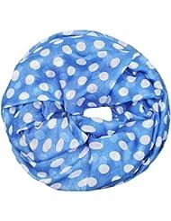 Mevina Schlauchschal mit Anker Punkte Sterne Print Loop viele Farben Viskose Star Maritim Druck