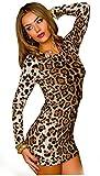 Produkt-Bild: Kleid Leopard Leo Mini Kleid Minikleid Partykleid Gr. S/M 36 38