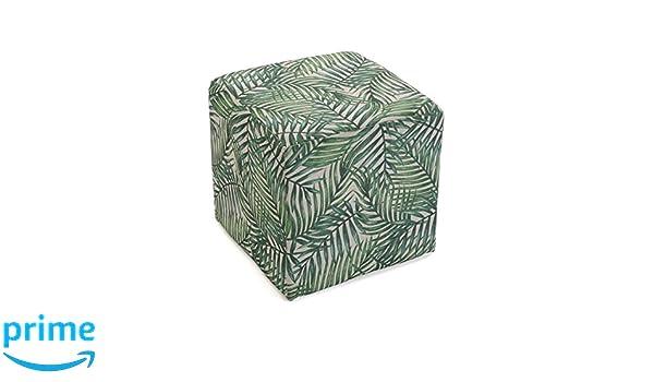 Versa sgabello cubo puff sedia milhojas verde