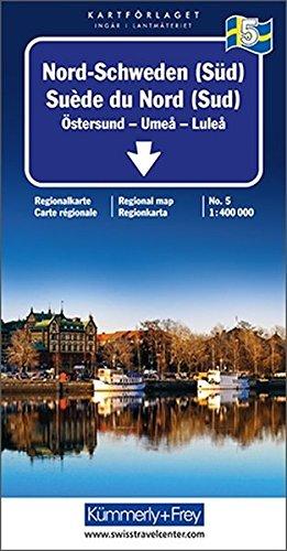 Kümmerly & Frey Karten, Nord-Schweden (Süd) (Kümmerly+Frey Reisekarten): Alle Infos bei Amazon