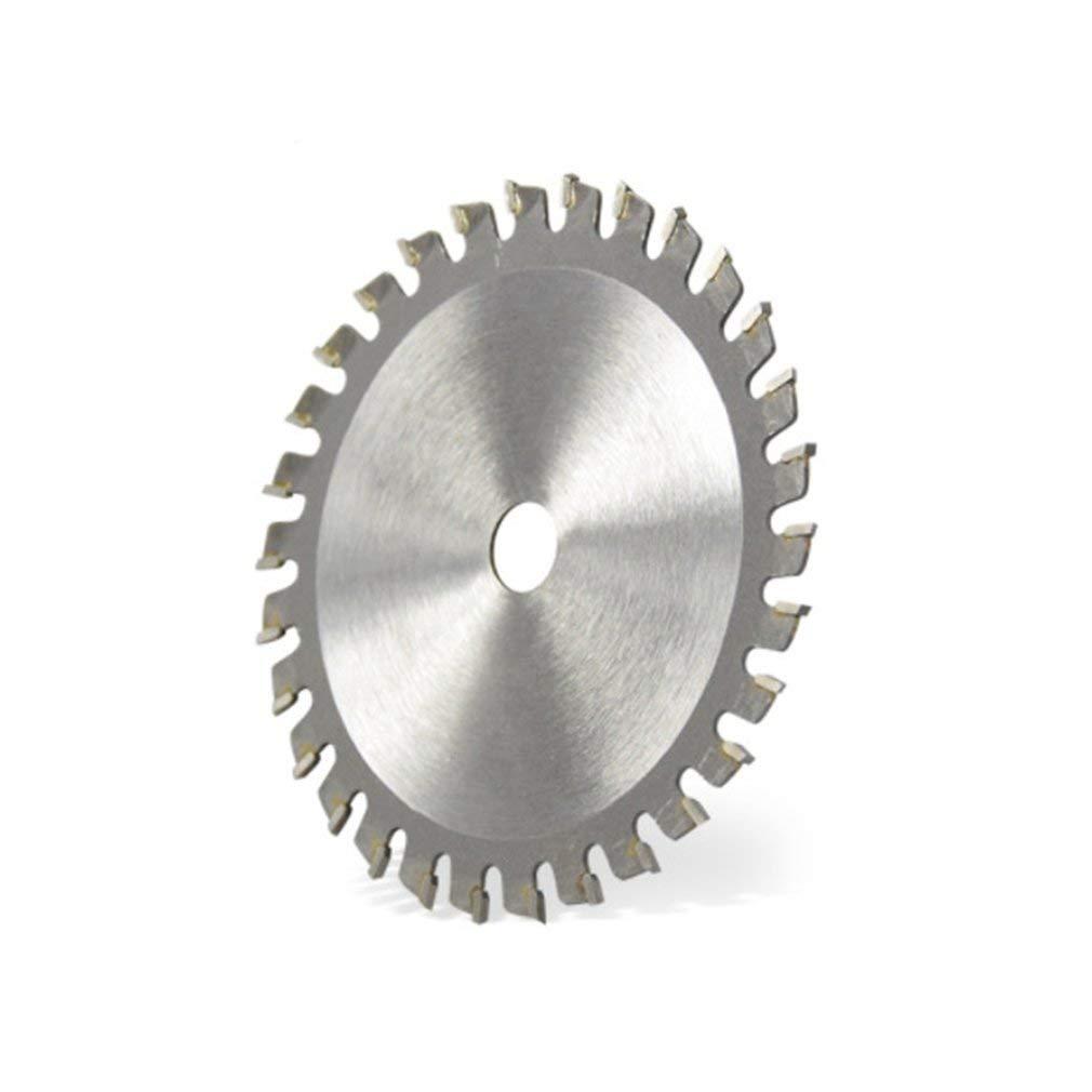 Leoboone TCT 30 dientes Hoja de sierra circular Discos de rueda TCT Aleaci/ón Carpinter/ía Hoja de sierra multifuncional para cortar metal en madera 85x10MM