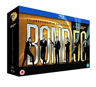 James Bond - 22 Film Collection [Blu-ray] [1962] (B006PFCQR4) | Amazon price tracker / tracking, Amazon price history charts, Amazon price watches, Amazon price drop alerts