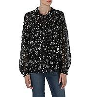 Juicy Couture Blouses For Women, BLACK M, Size M