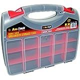 Am-Tech Double Sided Plastic Storage Box Organiser