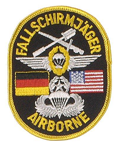 A. Blöchel Viele verschiedene Stoffabzeichen Deutschland Bundeswehr US Army US Airforce Landesflaggen Dienstgradabzeichen (Deutsch - Amerikanische Fallschirmjäger - Us Fallschirmjäger Kostüm
