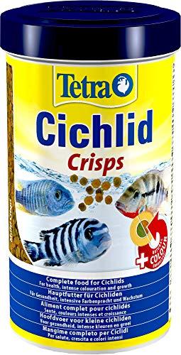Tetra Cichlid Pro Premiumfutter (für Cichliden mit natürlichen Farbverstärkern, minimale Wasserbelastung, geeignet für Futterautomaten), 500 ml Dose -