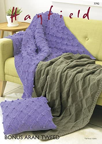 Hayfield Home couvertures Tricot 7792 Aran B01M2V4AJG B01M2V4AJG B01M2V4AJG 354b4d