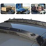 Dachreling für Autos, aufblasbarer Gepäckträger, weiche Dachreling, Universalpassform, für Kajaks, SUP, Gepäck