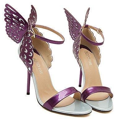 LFNLYX Frauen Stiletto Fersen / Club Schuhe / Victoria's / Secret / Light Soles / Party & Abendkleid Casual / Bowknot / Gürtelschnalle Almond