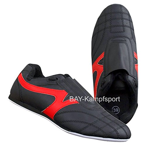 BAY® BUDO-MAX Schuhe Kampfsport schwarz (43)