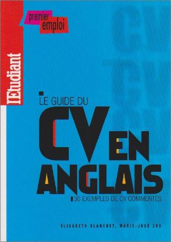 Le guide du CV en anglais par Elisabeth Blanchet