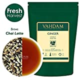 VAHDAM, Ginger Masala Chai Tea (100 tazze) | 100% SPEZIE NATURALI | Tè allo zenzero indiano autentico | Foglia sciolta speziata Chai Tea | Brew Hot Tea, Iced Tea o Chai Latte | 100gr (set di 2)