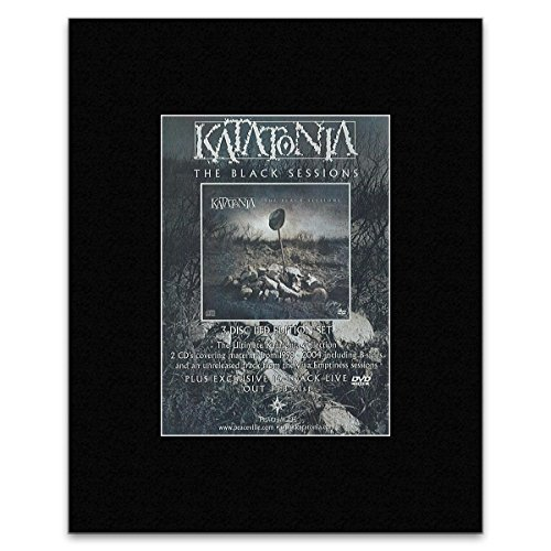 KATATONIA - The Black Sessions Matted Mini Poster - 13.5x10cm