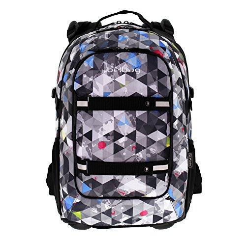 Herlitz 11410230 Schulrucksack be.bag beat, Snowboard (Beat Bag)