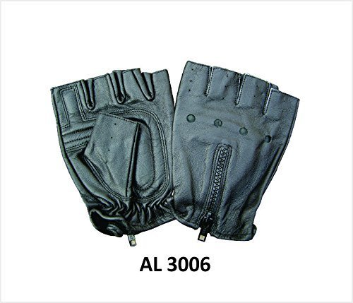 unisex-adult-al3006-fingerless-glove-small-black-by-allstate-leather