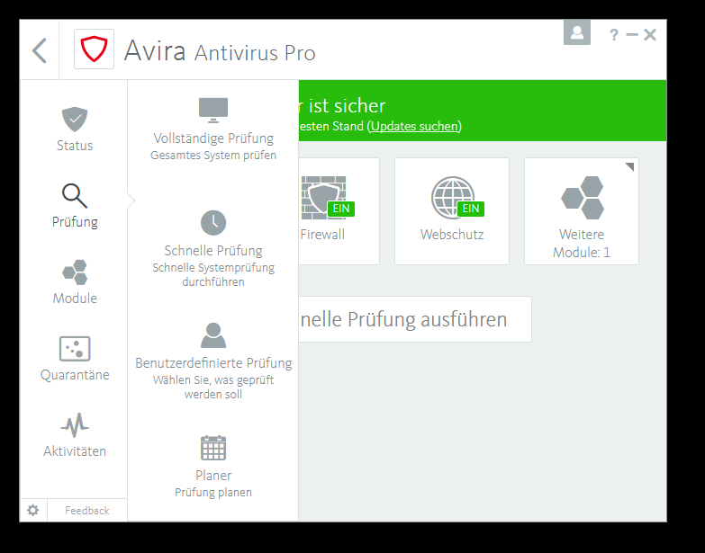 Avira Internet Security Plus Edition 2018 / Sicheres Virenschutzprogramm inkl. Avira System Speedup (2-Jahres-Abonnement) für 1 Gerät / Download für  Download für Windows (7, 8, 8.1, 10), Mac & Android [Online Code] - 5