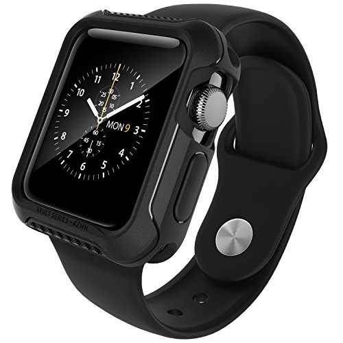 apple-watch-series-2-42mm-case-caseology-vault-series-flexible-tpu-slim-body-shield-matte-black-stea
