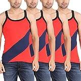 Zippy Men's Fabia Sleeveless Red Vest (P...