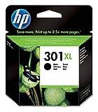HP 301XL CH563EE Cartuccia Originale per Stampanti HP a Getto d'Inchiostro, Compatibile con Stampanti DeskJet 1050, 2540 e 3050, OfficeJet 2620, 4630, Envy 4500 e 5530, Nero