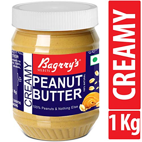 2. Bagrry's Natural Peanut Butter, Creamy